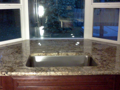 sink install